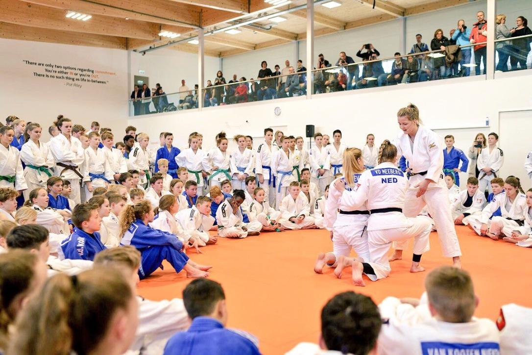 Judoclinic van Juul Franssen